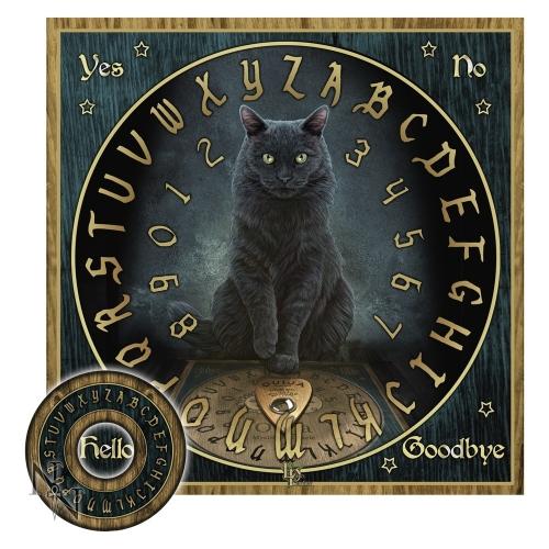 Tavola ouija gatto nero studio negozio esoterico il tempio di iside palermo tutto l - La tavola di ouija ...