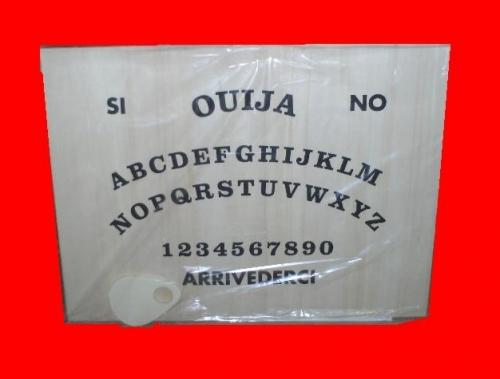 Tavola ouija 45x60 in legno studio negozio esoterico il tempio di iside palermo tutto l - La tavola di ouija ...